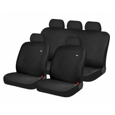 Чехлы на сиденье автомобиля Hadar Rosen SOLID Черный 10932
