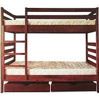 Двухъярусная кровать ТИС Трансформер-1 80x190 сосна