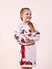 Вышито детское платье на длинный рукав. Размеры 122140