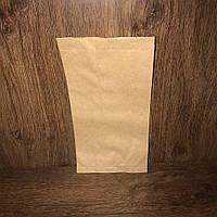 Бумажный пакет под хлеб 270х140х60 коричневый, 1000шт/упаковка