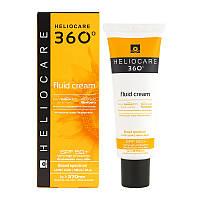 Солнцезащитный крем-флюид с SPF 50+ для всех типов кожи / HELIOCARE 360º Fluid Cream SPF 50+, 50мл.