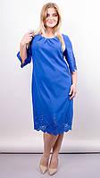 Красивое платье Ажур перфорация большие размеры, фото 1