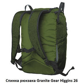 Рюкзак городской Granite Gear Higgins 26 Black, фото 2
