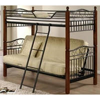 Двухъярусная кровать Onder Metal Fun Futon DD