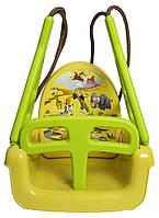 Качель модульная 3в1 Tega TG-184 124 yellow