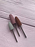 Силиконовая насадка, полировщик для фрезера (розовая), фото 2
