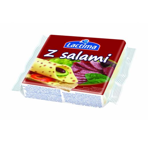 Сыр Lactima z salami 130 г. Польша