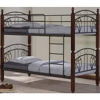 Двухъярусная кровать Onder Metal Sofi DD 90x190