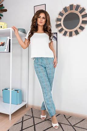 """Летний женский брючный костюм  """"Майорка"""" с блузой (2 цвета), фото 2"""