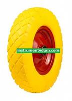 Колесо пенополиуретановое 4.00-8/204 (диаметр 400 мм)