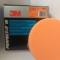 Полировальный круг 3М 09550.Многоразовый.Оранжевый
