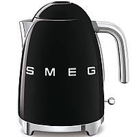 Чайник электрический Smeg KLF03BLEU черный, фото 1