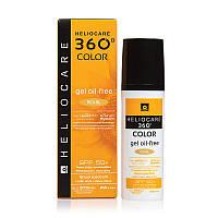 Тональный солнцезащитный гель с SPF 50+ (Жемчужный) / HELIOCARE 360º Color Gel Oil-Free Pearl SPF 50+, 50мл.