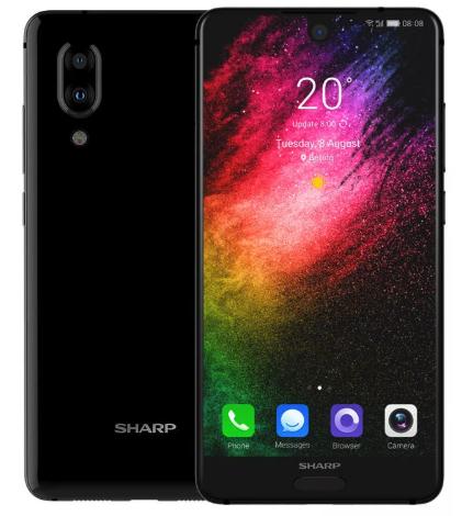 """УЦЕНКА! Sharp AQUOS S2 5.5"""" (C10) (2040x1080) / NFC / Snapdragon 630 / 4Гб / 64Гб / 12Мп / 2700мАч"""