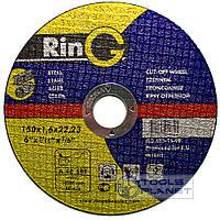 Круг отрезной по металлу Ring 150 х 2,0 х 22,2, фото 1