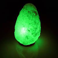 Соляная лампа SALTKEY ROCK Gigant Green