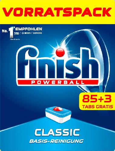 Таблетки для посудомийних машин Finish Powerball classic 88 шт