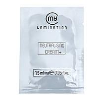 Склад №2 Neutralising cream+ My Laminationl для ламінування вій і брів, 1.5 ml