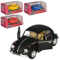 Машинка KT5057WM мет., інерц., 1:32, відчин. двері, гумові колеса, 4 кольори, кор., 16-7-8 см.