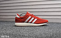 Мужские кроссовки Adidas Iniki Red White, Реплика, фото 1