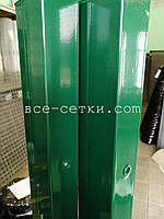 Столб для секционных ограждений цинк +ППЛ высота 1,7 м .