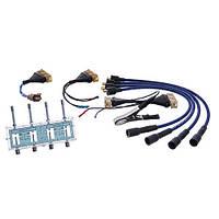 Разрядник с комплектом переходников для проверки модулей и катушек зажигания