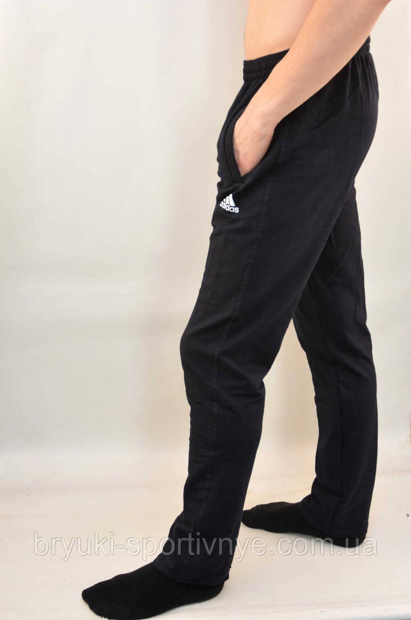 a1cb08250134 Брюки спортивные трикотажные мужские Adidas с карманами на молнии - Штаны  спортивные