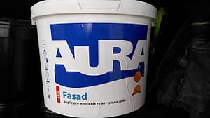 Фасадная краска Aura Fasad для наружных и внутренних работ