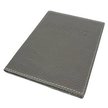 Обкладинка на паспорт для чоловіків Canpellini 0324 сірий