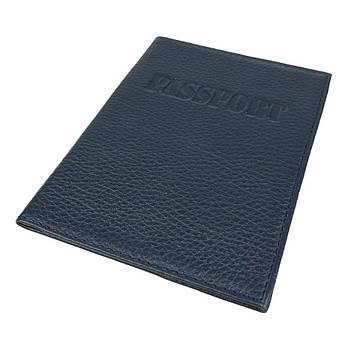 Обкладинка для паспорта Canpellini 0324 темно-синя