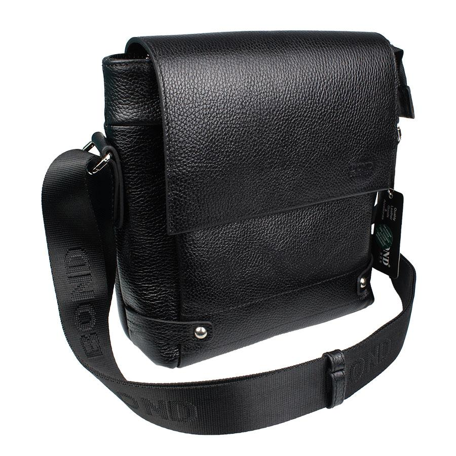 Чорна чоловіча сумка через плече Bond 1317-281 black