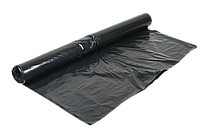 Пленка строительная техническая 1500 мм, 80мкм, (вторичка, черная) ПЕТ  На метраж