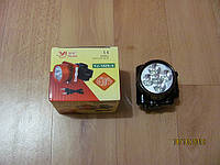 Налобный фонарь на 5 светодиодов со встроенным аккумулятором и с подзарядкой от 220v.YJ-1829-5