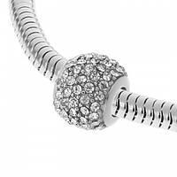 Підвіска Pandora із сталі з фіанітами 129700
