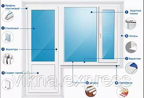 Выход на балкон Steko S700 доставка по г.Запорожье и  Запорожской области