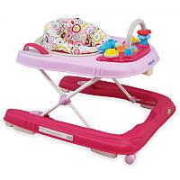 Ходунки детские Baby Mix 2в1 BG-0416 Розовый