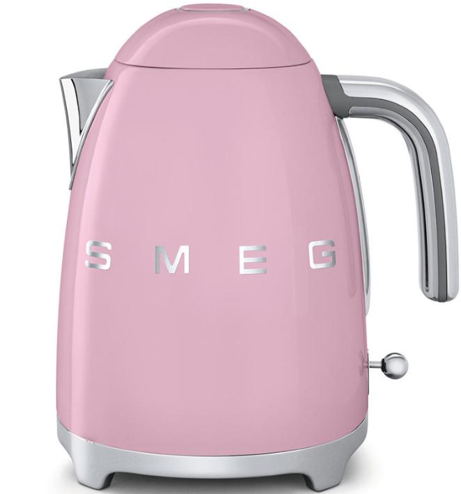 Чайник электрический Smeg KLF03PKEU пастельно розовый