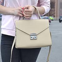 """Стильная женская повседневная сумка """"Мелисса Beige"""", фото 1"""