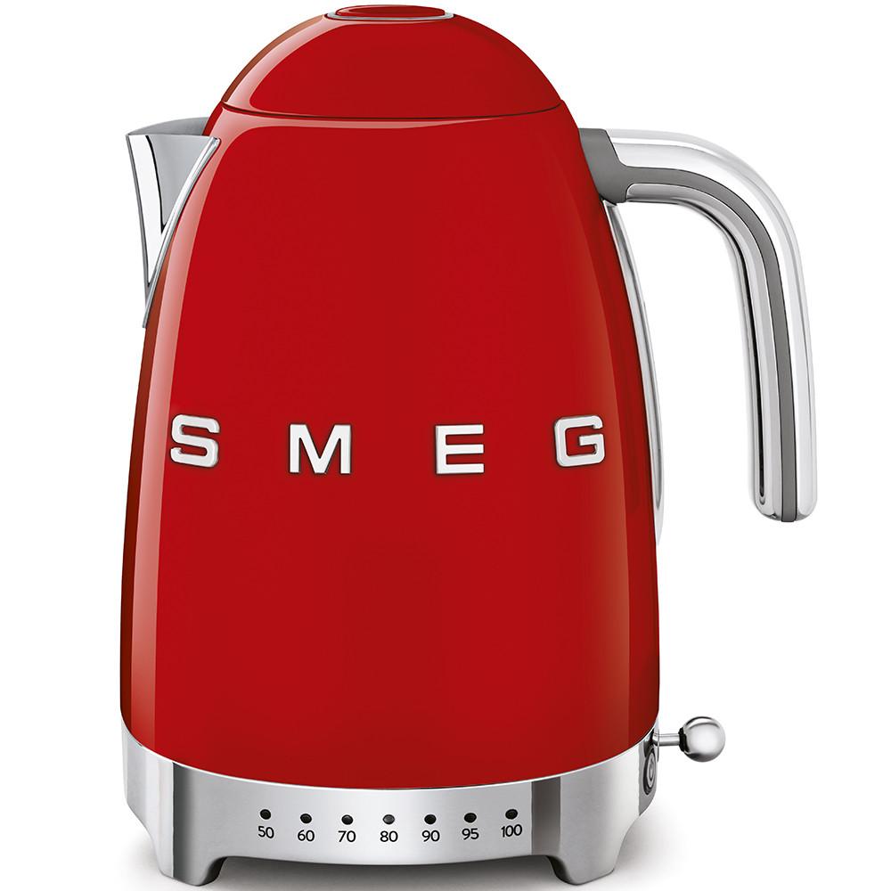 Чайник электрический с регулируемой температурой Smeg KLF04RDEU красный