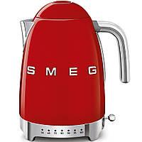 Чайник электрический с регулируемой температурой Smeg KLF04RDEU красный, фото 1