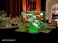 """3D светильник """"Космический корабль 4"""" 3DTOYSLAMP, фото 1"""