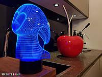 "3D лампа ""Спирит"" 3DTOYSLAMP, фото 1"