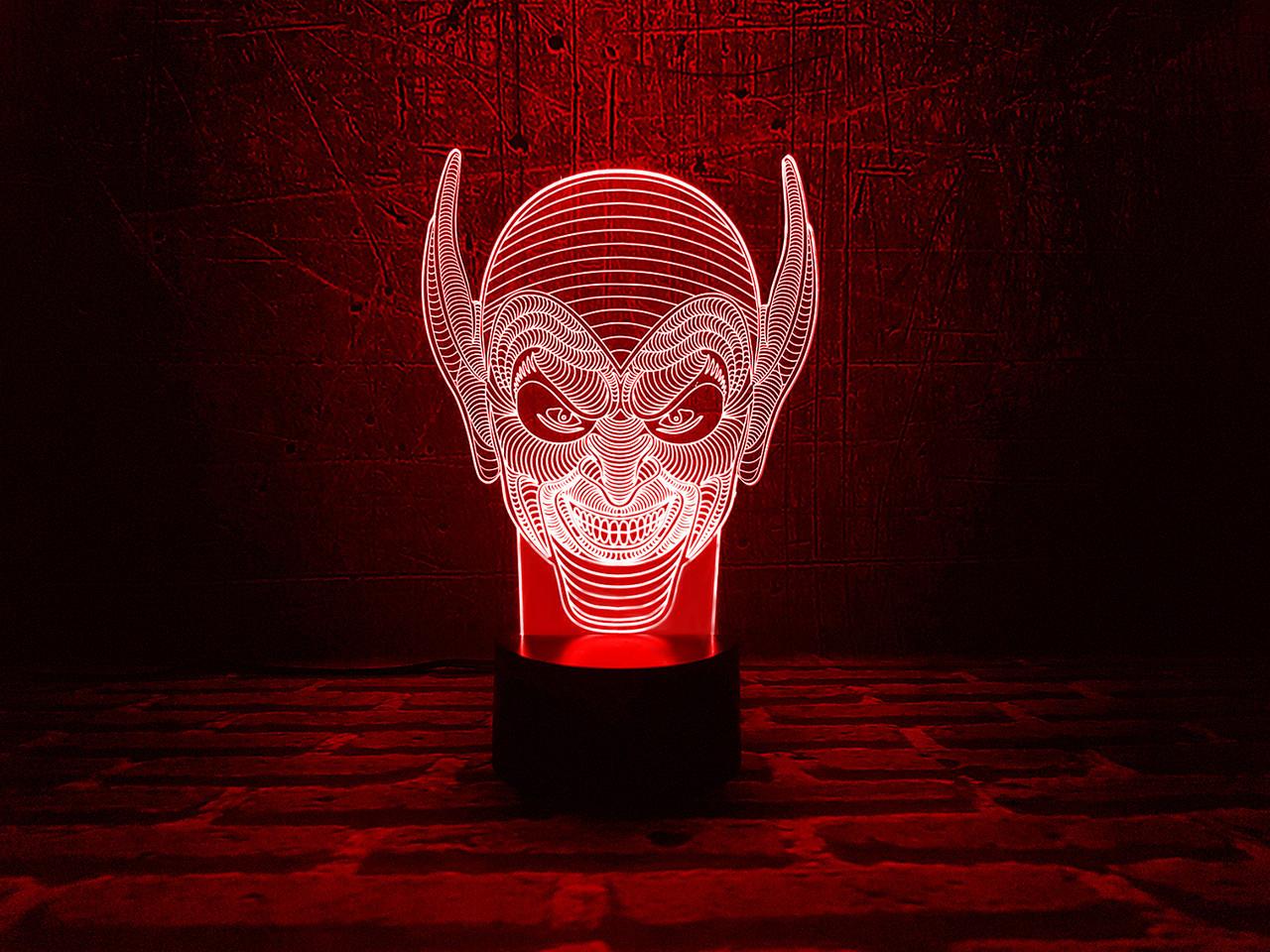 """3D лампа """"Гоблин"""" 3DTOYSLAMP, фото 1"""