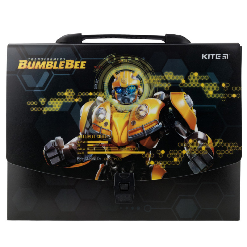 Портфель-коробка Kite Transformers BumbleBee Movie TF19-209