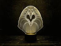 "Сменная пластина для 3D ламп ""Орел"" 3DTOYSLAMP, фото 1"