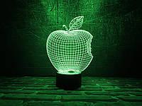 """Сменная пластина для 3D светильников """"Apple"""" 3DTOYSLAMP, фото 1"""