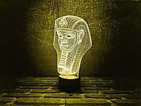 """Сменная пластина для 3D светильников """"Тутанхамон"""" 3DTOYSLAMP, фото 1"""