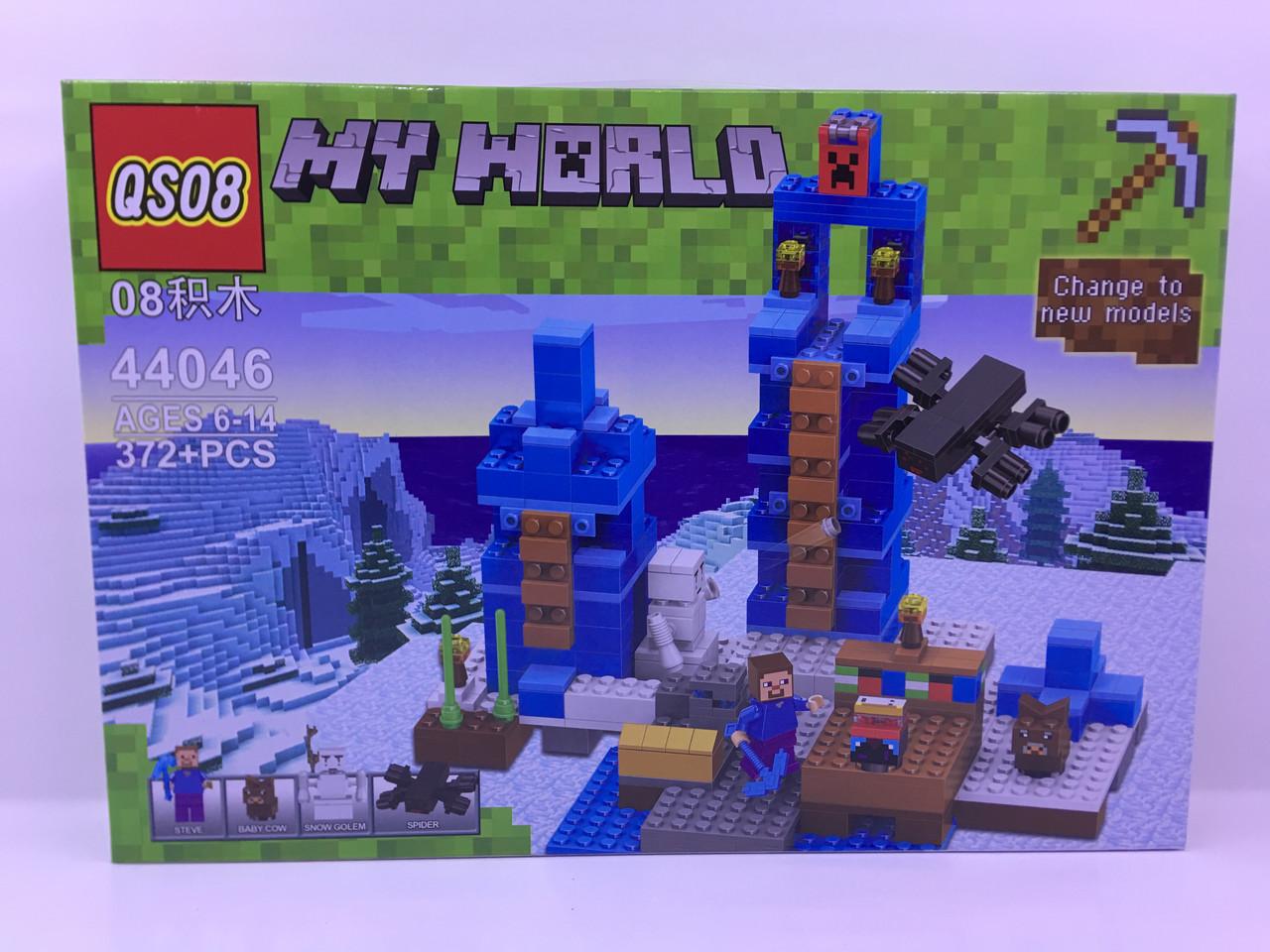 """Конструктор """"Minecraft"""" (372 дет.) + Подарок!!!"""