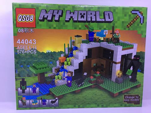 """Конструктор """"Minecraft"""" (576 дет.) 44043 + Подарок!!!, фото 2"""