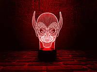"""Сменная пластина для 3D ночника """"Гоблин"""" 3DTOYSLAMP, фото 1"""